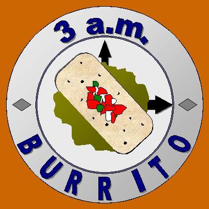 3 a.m. Burrito Logo